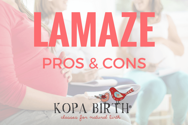what is lamaze birthing method