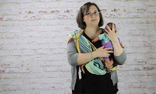 Kopa Birth Plus online childbirth class Newborn Babywearing Basics Class