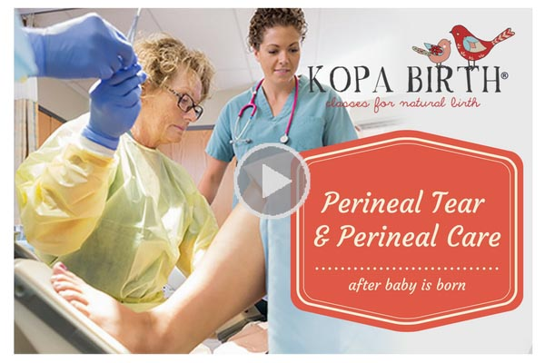 Perineal Tear & Perineal Care After Baby is Born | Kopa Birth®